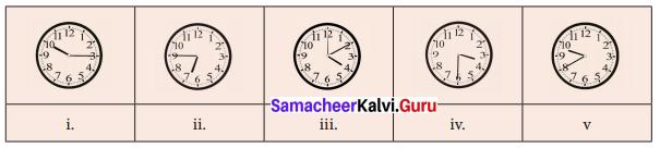 Samacheer Kalvi 6th Maths Solutions Term 2 Chapter 2 Measurements Ex 2.2 Q1
