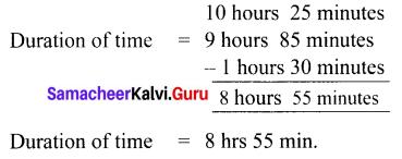 Samacheer Kalvi 6th Maths Solutions Term 2 Chapter 2 Measurements Ex 2.2 Q8