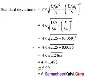 Samacheer Kalvi 10th Maths Chapter 8 Statistics and Probability Ex 8.1 19