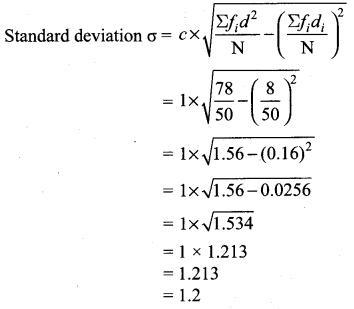 Samacheer Kalvi 10th Maths Chapter 8 Statistics and Probability Ex 8.1 22