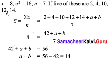 Samacheer Kalvi 10th Maths Chapter 8 Statistics and Probability Ex 8.1 26
