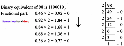 Samacheer Kalvi 11th Computer Science Solutions Chapter 2 Number Systems 7