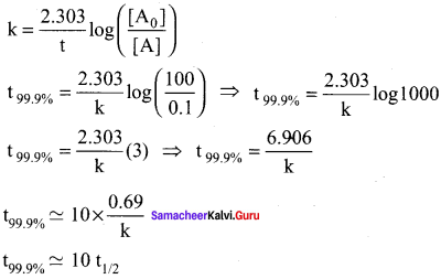 Samacheer Kalvi 12th Chemistry Solutions Chapter 7 Chemical Kinetics-114