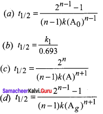 Samacheer Kalvi 12th Chemistry Solutions Chapter 7 Chemical Kinetics-117