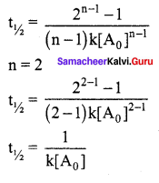 Samacheer Kalvi 12th Chemistry Solutions Chapter 7 Chemical Kinetics-26