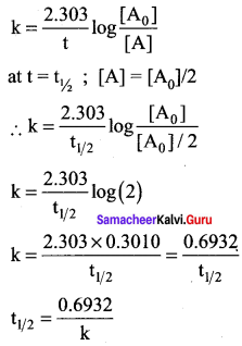 Samacheer Kalvi 12th Chemistry Solutions Chapter 7 Chemical Kinetics-29