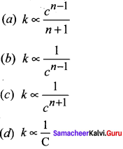 Samacheer Kalvi 12th Chemistry Solutions Chapter 7 Chemical Kinetics-56