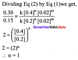Samacheer Kalvi 12th Chemistry Solutions Chapter 7 Chemical Kinetics-40