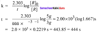 Samacheer Kalvi 12th Chemistry Solutions Chapter 7 Chemical Kinetics-71
