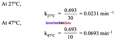Samacheer Kalvi 12th Chemistry Solutions Chapter 7 Chemical Kinetics-91