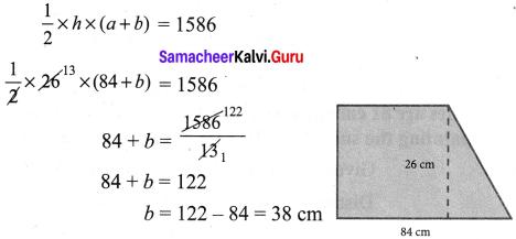 Samacheer Kalvi 7th Maths Solutions Term 1 Chapter 2 Measurements Ex 2.3 4