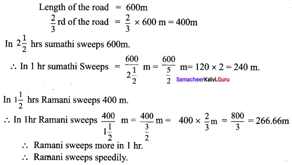 Samacheer Kalvi 7th Maths Solutions Term 1 Chapter 4 Direct and Inverse Proportion Additional Questions 33