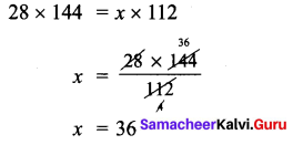 Samacheer Kalvi 7th Maths Solutions Term 1 Chapter 4 Direct and Inverse Proportion Ex 4.2 52