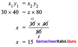 Samacheer Kalvi 7th Maths Solutions Term 1 Chapter 4 Direct and Inverse Proportion Ex 4.2 56