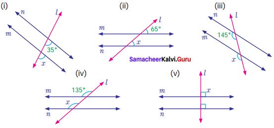Samacheer Kalvi 7th Maths Solutions Term 1 Chapter 5 Geometry Ex 5.2 5