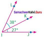 Samacheer Kalvi 7th Maths Term 1 Chapter 5 Geometry Ex 5.1 2