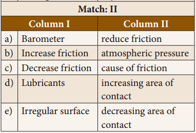 Samacheer Kalvi 8th Science Solutions Term 1 Chapter 2 Forces and Pressure 2