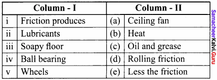 Samacheer Kalvi 8th Science Solutions Term 1 Chapter 2 Forces and Pressure 7