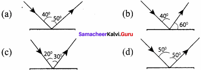 Samacheer Kalvi 8th Science Solutions Term 1 Chapter 3 Light 4