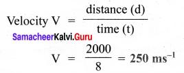 Samacheer Kalvi 8th Science Term 3 Chapter 1 Sound