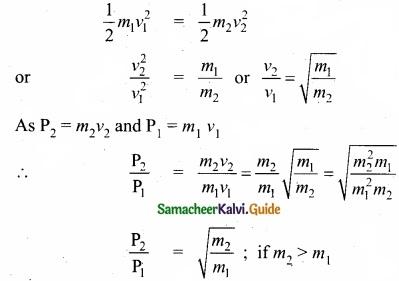 Tamil Nadu 11th Physics Model Question Paper 4 English Medium img 8