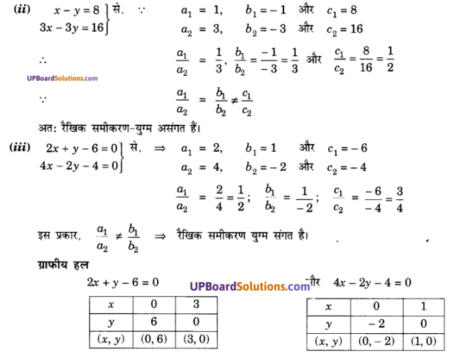 UP Board Solutions for Class 10 Maths Chapter 3 Pairs of Linear Equations in Two Variables img 18