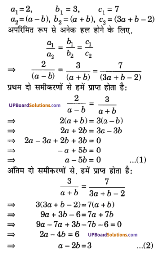 UP Board Solutions for Class 10 Maths Chapter 3 Pairs of Linear Equations in Two Variables img 56