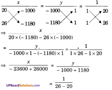 UP Board Solutions for Class 10 Maths Chapter 3 Pairs of Linear Equations in Two Variables img 63