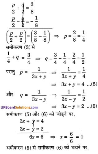 UP Board Solutions for Class 10 Maths Chapter 3 Pairs of Linear Equations in Two Variables img 85